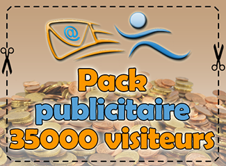 Pack publicitaire 35000 visiteurs