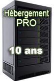 Hébergement Pro 10 ans